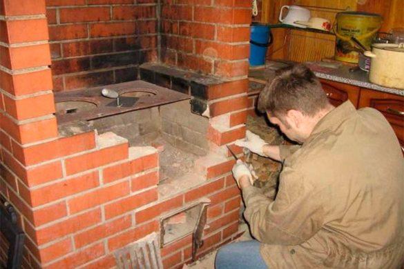 ремонт дровяных печей